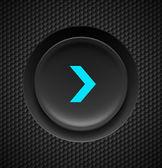 Fast forward button. — Stock Vector