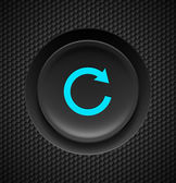 Repeat button. — Stock Vector