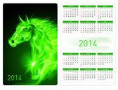 Calendar 2014. — Stock Vector