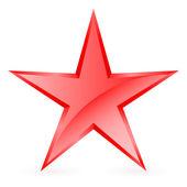 Kızıl Yıldız. — Stok Vektör