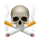 No smoking. — Stock Vector