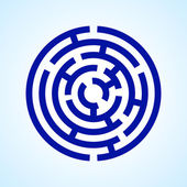 Labirinto — Vettoriale Stock