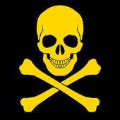 Skull and cross-bones — Stock Vector