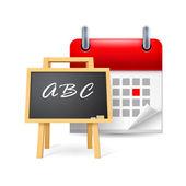 School time — Stock Vector