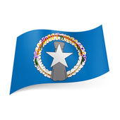 State flag of Northern Mariana Islands — Stock Vector
