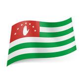 State flag of Abkhazia — Stock Vector