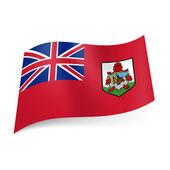 Flag of  Bermuda — Stock Vector