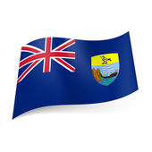 Flag of Saint Helena, Ascension and Tristan da Cunha — Stock Vector