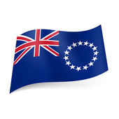Flag of Cook Islands — Stock Vector