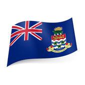 Flag of Cayman Islands — Stock Vector