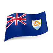 Flag of Anguilla — Stock Vector
