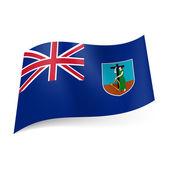 Flag of Montserrat — Stock Vector