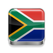 Metal  icon of  South Africa  — Stock Vector
