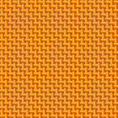 Orange cloth texture — Stock Vector
