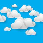Abstrakte cloudscape — Stockvektor
