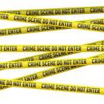 Постер, плакат: Police danger tape