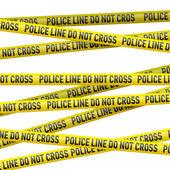 Police danger tape — Stock Vector