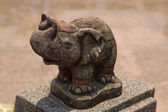 Statue of Thai elephant — Stock Photo