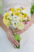 Beautiful wedding bouquet. — Stock Photo