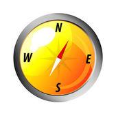 Vektor-symbol. kompass — Stockvektor