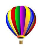 Vector hot air balloon — Stock Photo