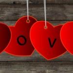 Vector love background — Stock Photo