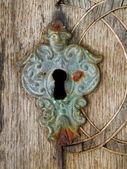 Della vecchia serratura — Foto Stock