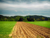 Hdr landschap — Stockfoto