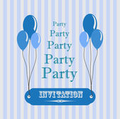 Invitation for party — Stock Vector