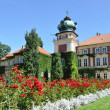 Stock Photo: Aristocratic castle, residence of garden