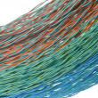 Colorful bunches of cables, a global network - ストック写真