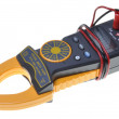 Electrical measurements clamp meter tester — Stockfoto