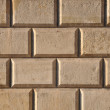 Wall with rusticated blocks — Lizenzfreies Foto