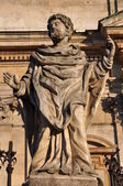 Statue of Apostle James Younger, sacred art, sacred art — Stock Photo