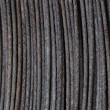Stock Photo: Old rusty steel wire