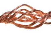 Copper wires — Stock Photo