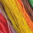 Multi-colored wires — Stock Photo