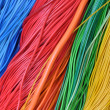 Colored wires — Stockfoto