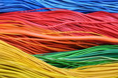 Colored wires — Stock Photo