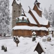 Постер, плакат: Wooden church Wang in Karpacz