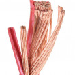 Cleared copper cable — Stock Photo