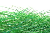Green wires — Stock Photo