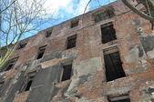 Le rovine dell'edificio — Foto Stock