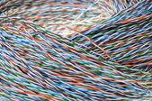 Telecommunication cable — Foto de Stock
