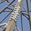 Stock Photo: Steel structure of tower