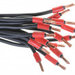Electrical cables, used in electrical systems — Stock Photo