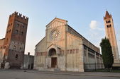 Basilica of San Zeno, Verona — Stock Photo