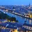 Night view of the city of Verona — Stock Photo #28850537