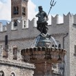 Fountain of Neptune, Trento — Stock Photo