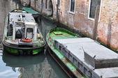 Venice boat equipment supplies — Stock Photo